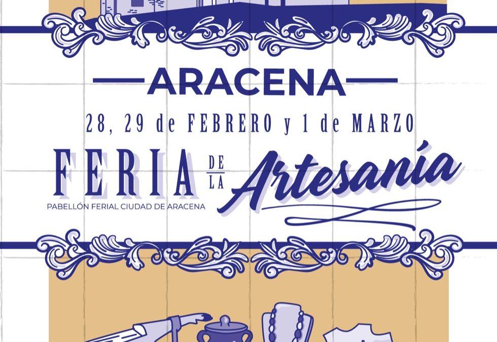 Artesanos de diversa procedencia se darán cita en Aracena en la 8ª Feria de Artesanía 'Sierra de Aracena'